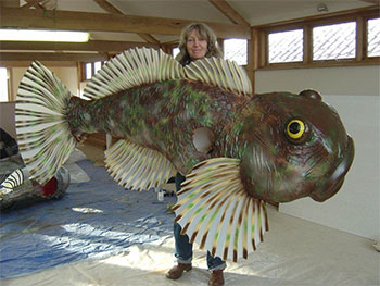 fish costume photo